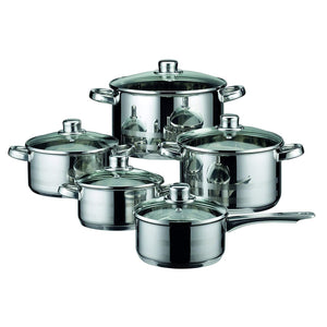Stainless Steel Induction Cookware Pots and Pans Sets