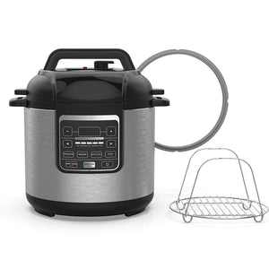 Multi Cooker with Coated Pot & Steam Rack
