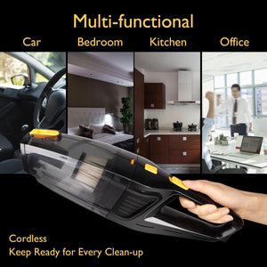 Portable Rechargeable Cordless Vacuum Cleaner