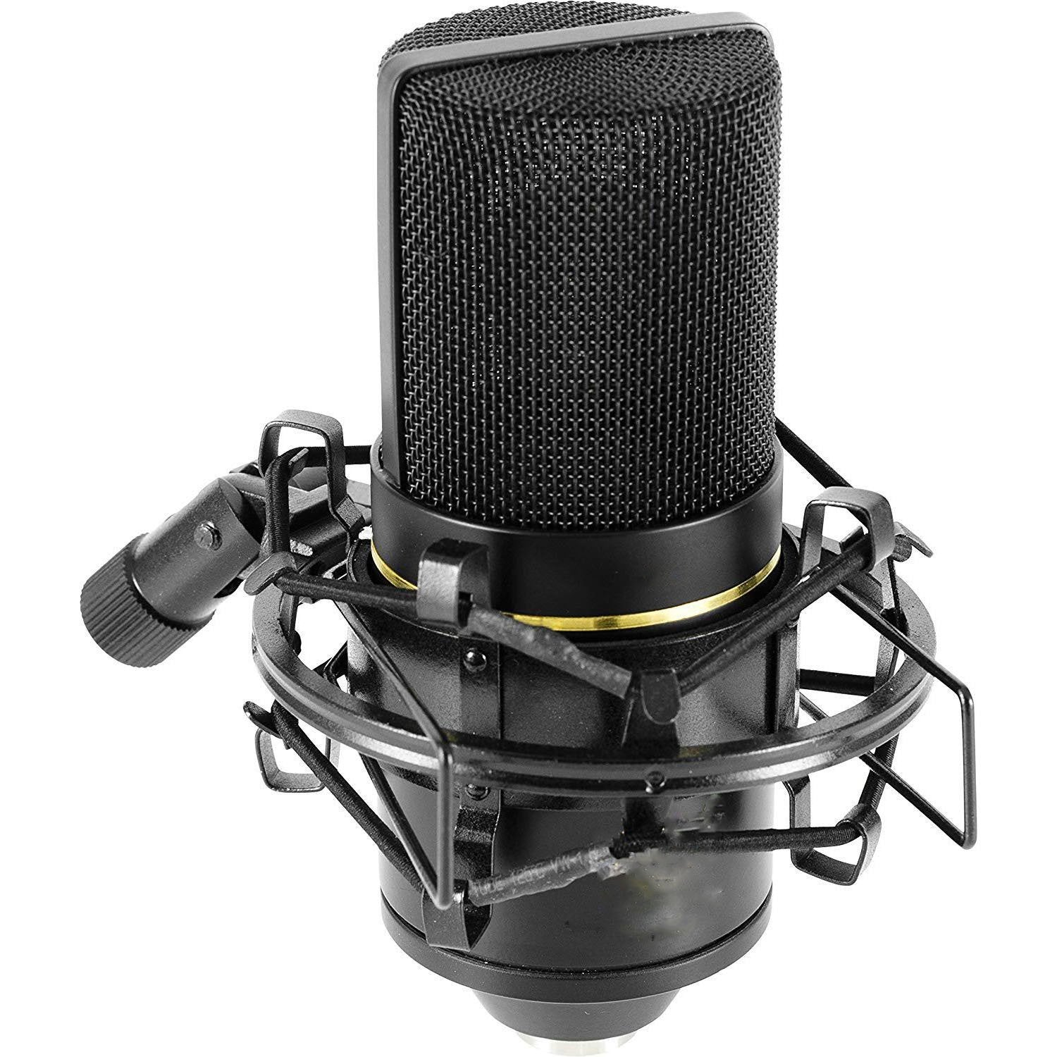 Low Noise With Balanced Microphone