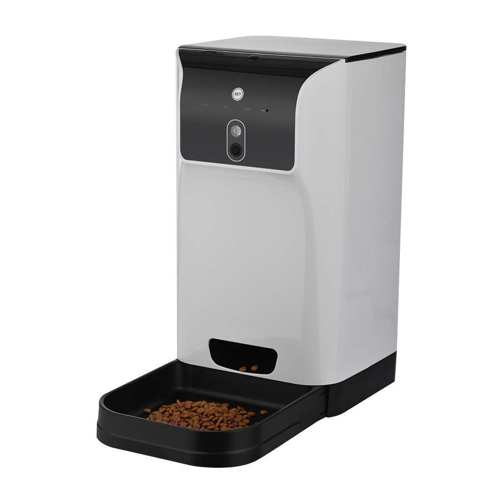 Automatic Pet Feeder Compatible With Camera Recorder