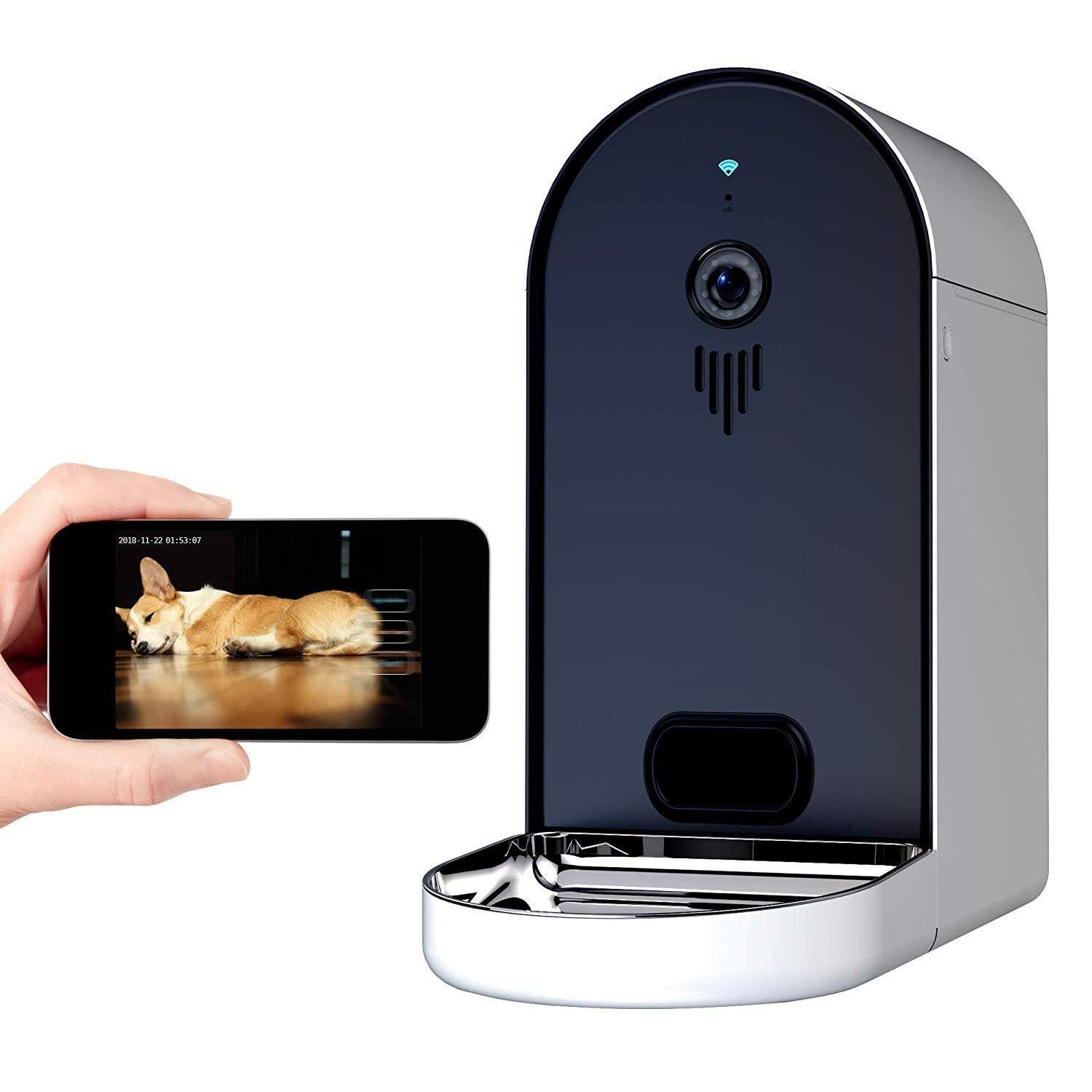Automatic WiFi Dog/Cat Smart Food Dispenser