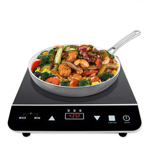 Portable Electric Induction Cooktop With Rapid Heating
