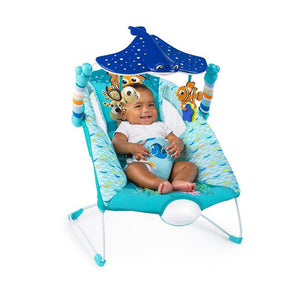Lightweight Soothing Vibration Baby Bouncer