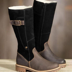 Warm Lining Zipper Snow Winter Boots