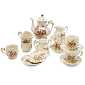 Teapot Set-Includes Cup and Saucer