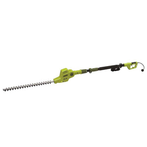 Multi-Angle Electric Telescoping Pole Hedge Trimmer