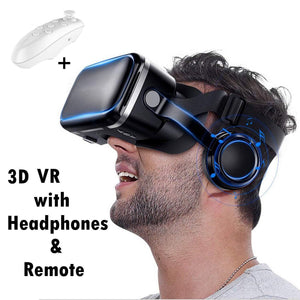 VR Virtual Reality Headset for 3D Movie Video Game