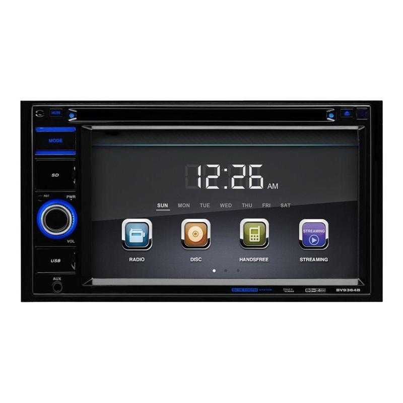Car Stereo DVD Player, 6.2 Inch Touchscreen LCD Monitor