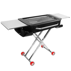 Portable Outdoor Thickened Barbecue Grill