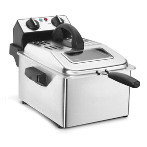 Stainless Steel Deep Fryer,4 quart