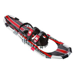 Red Double Ratcheting Binding Snowshoe