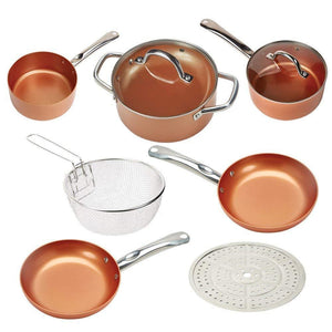 Round Pan Set With Ceramic Non Stick Coating