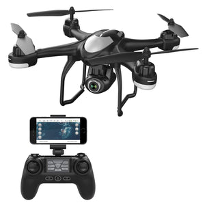 Quadcopter With Adjustable Wide-Angle Camera
