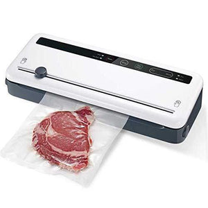 Vacuum Sealer With Built-in Cutter & Roll Bag Storage