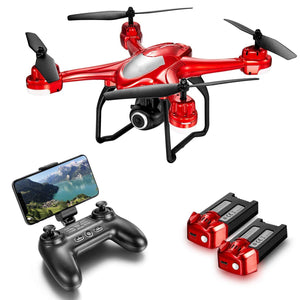 Quadcopter With Adjustable Wide-Angle HD Camera