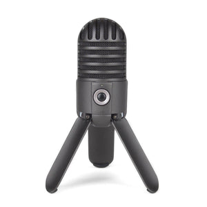 Fold-Back Leg Usb Microphone( Black)