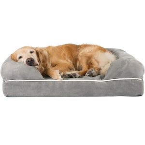 Removable Cover 100% Suede Dog Bed Mattress