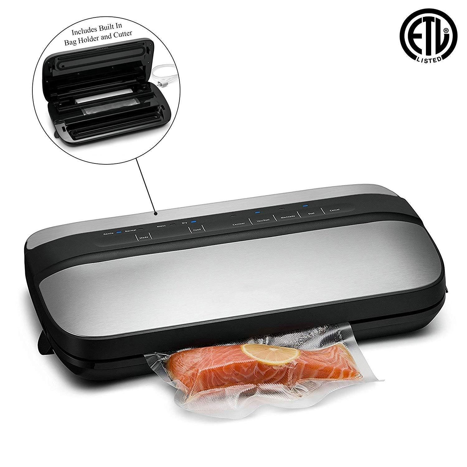 Vacuum Sealer - Preserve & Store Food