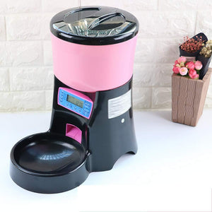 Programmable Automatic Pet Feeder, LCD Display