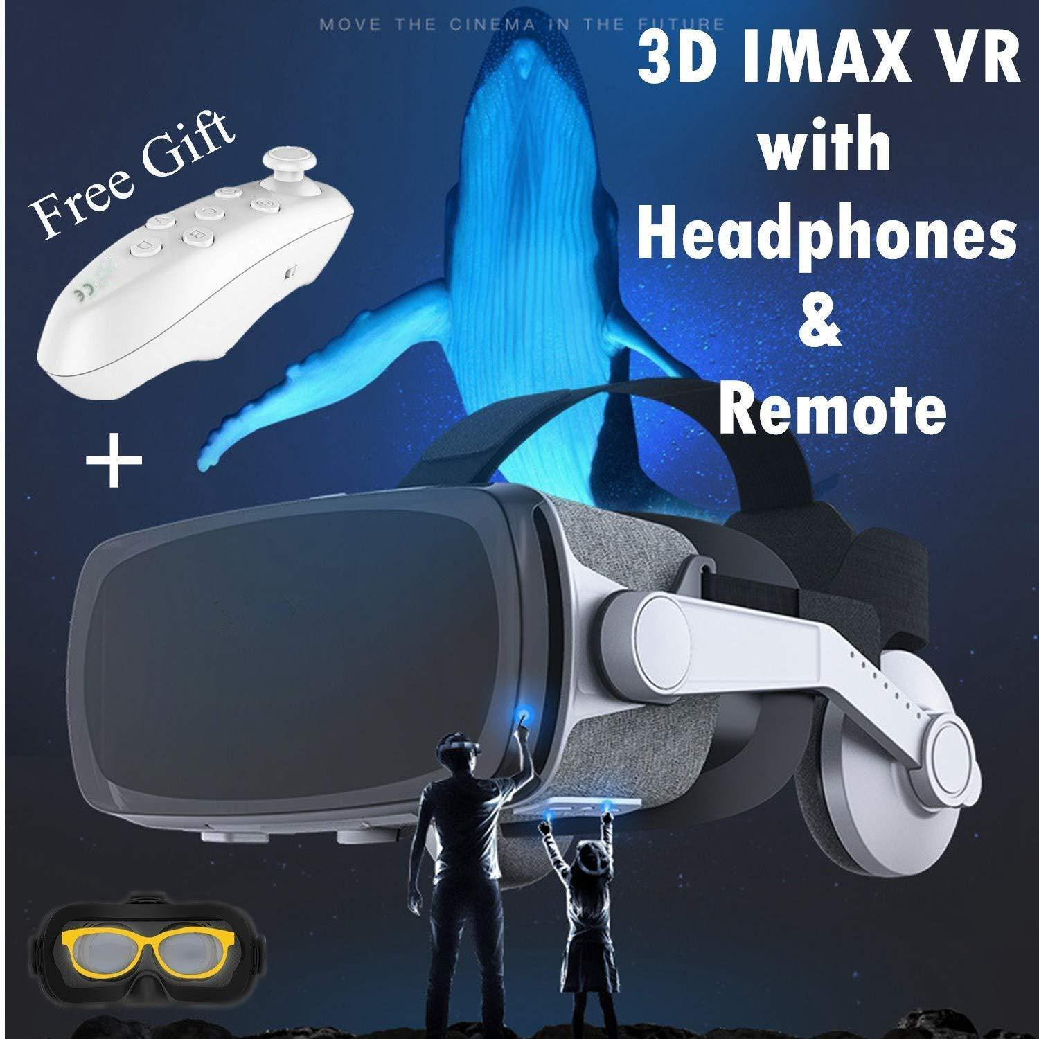 Virtual Reality Glasses for 3D Movie & Game,Gray