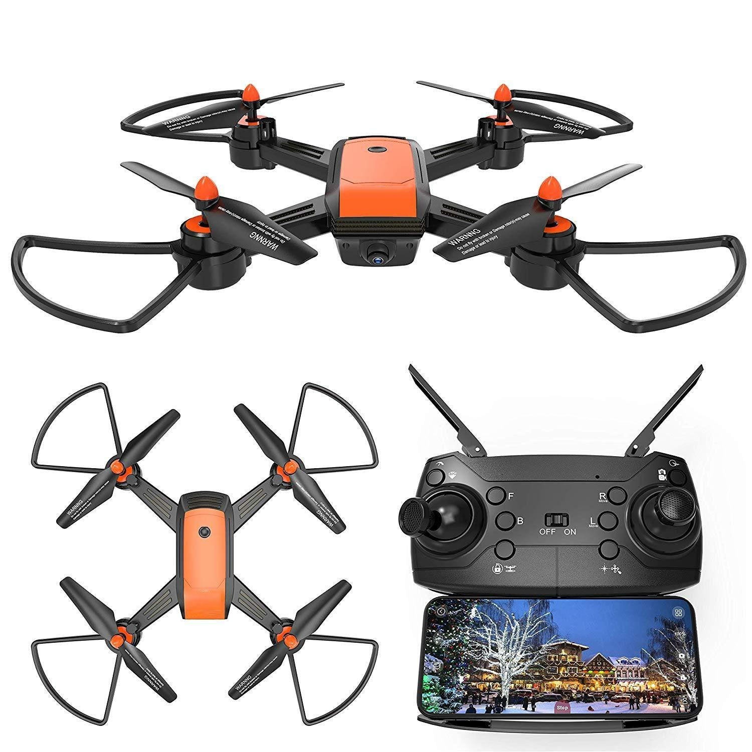 Drone With Camera,VR Mode,Orange