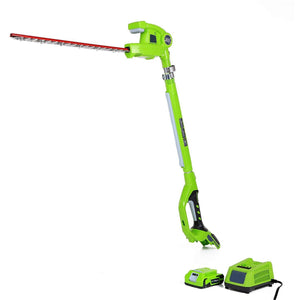 Cordless Hedge Trimmer,2Ah Charger