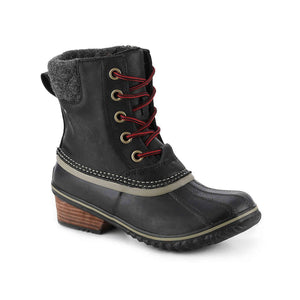 Lace-Up Duck Snow Boot