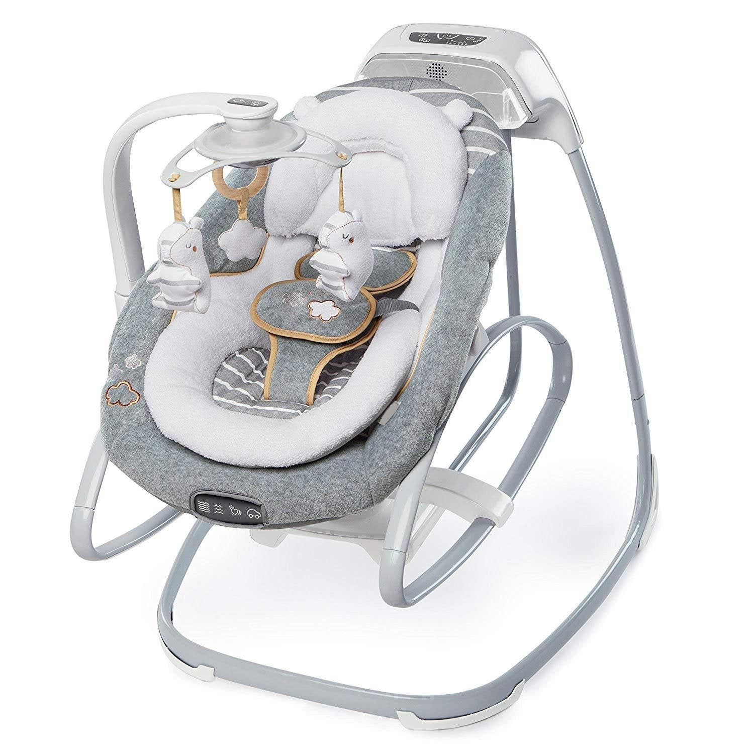 Smart Compact Cradle With Full Body Bolster