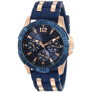 Men's Stainless Steel Casual Silicone Watch