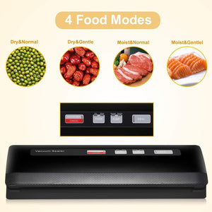 Vacuum Sealer/Food Sealer Machine,4 Food Modes