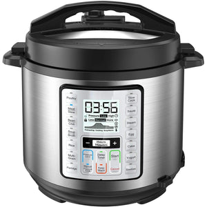 Electric Pressure Cooker With LCD Display