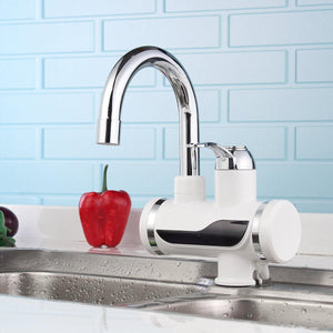 360¡ã Rotatable Temperature Display Faucet