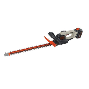 Cordless Hedge Trimmer With Wraparound Auxiliary Handle