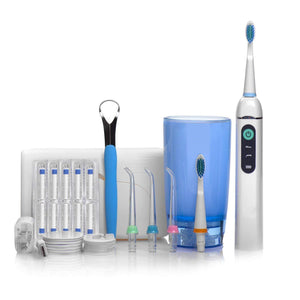 Rechargeable Electric Flosser And Oral Irrigator