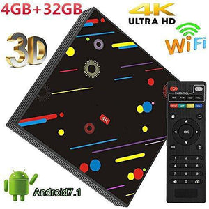 Quad Core 2.4GHz/5.0GHz WiFi Smart TV Box