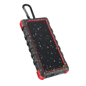 Rugged Solar Charger with Flashlight