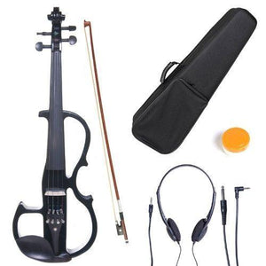 Solid Wood Electric Violin With Ebony Fittings