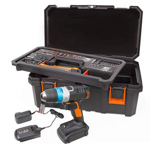 Drill Accessory Kit With Storage Box