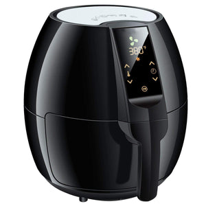 Touch Control Air Fryer,3.7Qt(Black)
