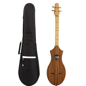Natural Mahogany Dulcimer with M4 Gig Bag