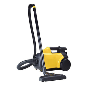 Mite Bagged Canister Vacuum Cleaner, Pet, Yellow