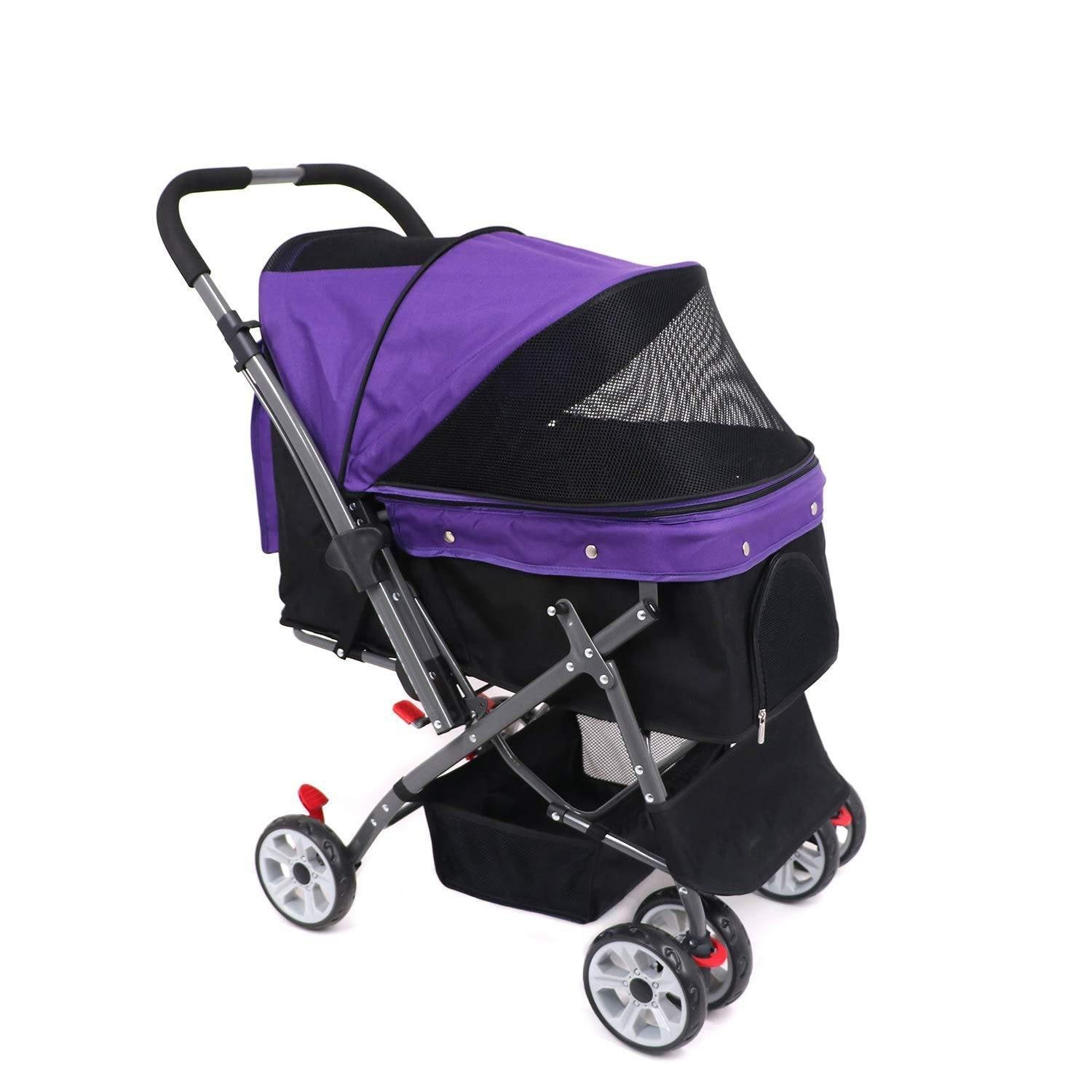 Strong Stable And Collapsible Pet Stroller