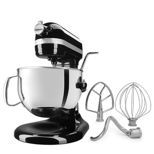 Professional 6-Qt Bowl-Lift Stand Mixer-Black
