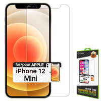 SGIPH12MINI - Tempered Glass Screen Protector, 9H Hardness - iPhone 12 mini