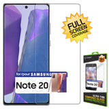 STSAMN20 - Cellet Samsung Galaxy Note 20 TPU Screen Protector, Full Coverage Flexible Film Screen Protector Compatible to Samsung Galaxy Note 20