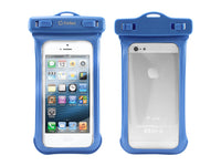 WATER5BL - Cellet Universal Waterproof Case for Apple iPhone 5 and other Similar Sized Devices - Blue