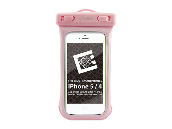 WATER5PK - Cellet Universal Waterproof Case for Apple iPhone 5 and other Similar Sized Devices - Pink