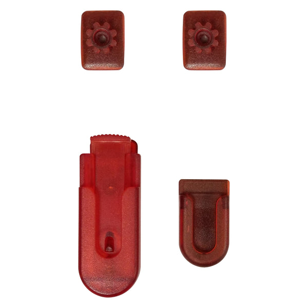 GEAR4RED - Cellet Red Universal Swivel 4PC Gear Clip (4 in 1) - Sealed Clamshell Package