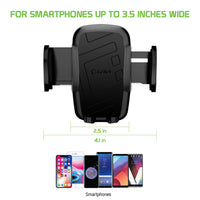 HDSHRTM - Universal Extendable Telescopic Arm Windshield and Dashboard Smartphone Holder Mount by Cellet
